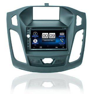 """7"""" Highspeed Navigations Autoradio f�r Ford Focus MK4 von ICARTECH   ultraschneller 1.2 GHz Cortex A9 Prozessor   Lenkradsteuerungs�bernahme INKLUSIVE   Original Ford Warnblinkschalter INKLUSIVE   Externes Mikrofon GRATIS   GPS Navigation + TMC Ready"""