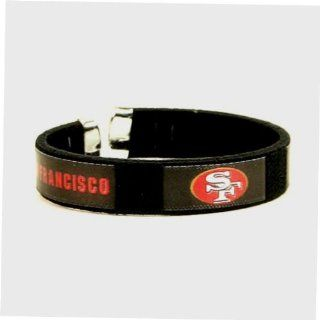 San Francisco 49ers Logo Fan Band Wristband Bracelet NFL Licensed: Everything Else