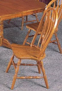 Oak Dining Room Side Chair (Set of 2) by Coaster Furniture