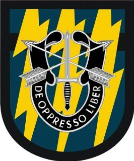 "US Army 12th Special Forces Group Flash Vinyl Decal Sticker 5.5"": Everything Else"