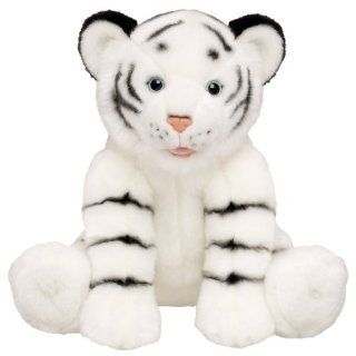 Build a Bear Workshop, White Tiger Stuffed Animal, 14 in. Toys & Games