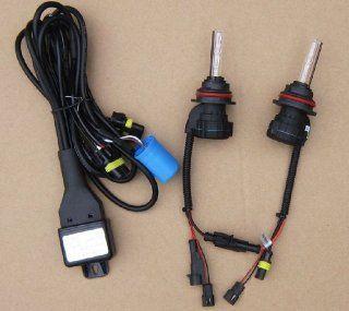 Car HID Xenon Telescopic Light Conversion Kit   2 pcs 9007 Xenon HID Bulbs Lamps Lights 6000K Automotive