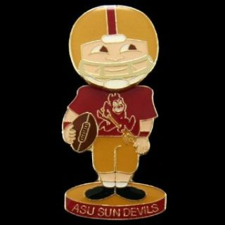 NCAA Arizona State Sun Devils Bobblehead Football Player Pin  Sports Related Pins  Clothing