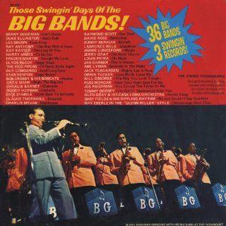 Those Swingin' Days Of The Big Bands: 36 Big Bands On 3 Swingin' Records! [3 Vinyl LP Set]: Music