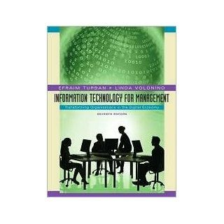Information Technology for Management 7th (seventh) edition Text Only: Efraim Turban: Books
