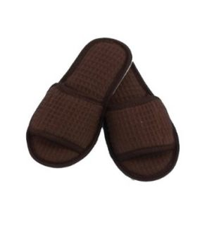 Children's Cotton Waffle Slippers Shoes