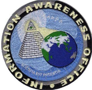 IAO Information Awareness Office Logo Patch  Applique Patches