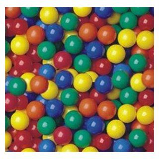 """Pack of 300 pcs Crush Proof non PVC Plastic Ball Pit Balls in 5 Colors   Phthalate Free 3.1"""" Air Filled   Guaranteed Crush Proof Toys & Games"""