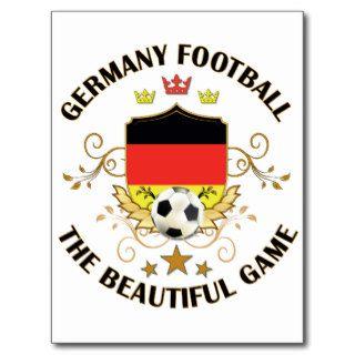 Germany German Football Soccer Futbol Post Cards