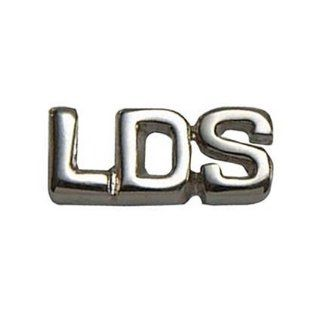 LDS Mens Silver Plated Steel LDS Latter Day Saint Tie Tac / Tie Pin for Boys   LDS Tie Tac, LDS Tie Pin, Missionary Gift: Jewelry