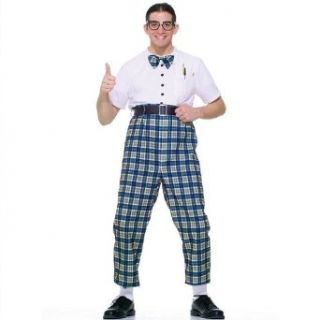 Class Nerd 50s Costume (Standard): Adult Sized Costumes: Clothing