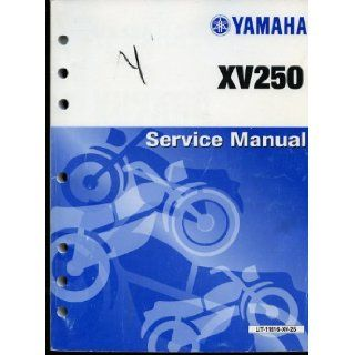 Yamaha XV250 Service Manual Yamaha Motor Co. LTD Books