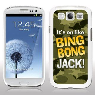 "Samsung Galaxy S3 Case   Duck Dynasty   ""It's on like Bing Bong Jack!""   White Protective Hard Case: Cell Phones & Accessories"
