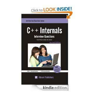C++ Internals Interview Questions You'll Most Likely Be Asked eBook Vibrant Publishers Kindle Store