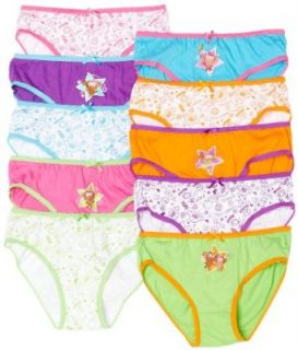 Little Princess Girls 7 16 Kaitlyn Brief, Assorted, 4 Clothing
