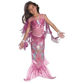 Pink Mermaid Little Girl's Ariel Dress Up Halloween Costume Toys & Games