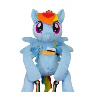 My Little Pony Friendship is Magic Rainbow Dash Hug Me Backpack: Toys & Games
