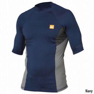 Quiksilver Mens Coastal Short Sleeve Rash Guard 716754