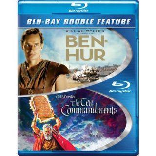Ben Hur/The Ten Commandments (Blu ray) (Widescreen)