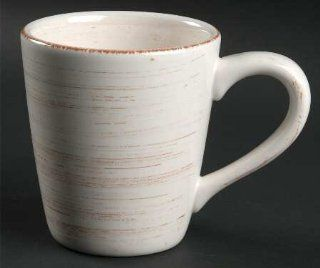 Tag Ltd Sonoma Ivory Mug, Fine China Dinnerware: Kitchen & Dining