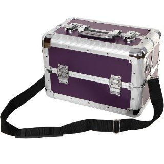 Songmics Neu Alu Beauty Case kosmetikkoffer Schminkkoffer Lila JBC228P: Koffer, Rucks�cke & Taschen