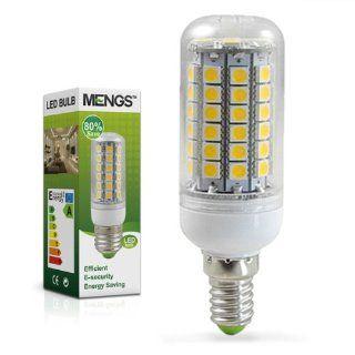 MENGS� E14 12W LED lampe Leuchtmittel & Birne Mais Licht 69 X 5050 SMD LEDs (750LM   Kaltwei� 6500K   360� Abstrahlwinkel   AC 220 240V   �32�97mm) Energiespar licht Beleuchtung