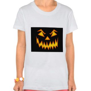 Scary Halloween Smile T shirt
