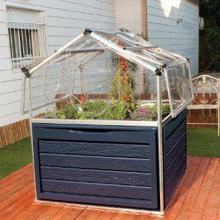 Hochbeet 118x118x146cm Alu Plant Inn: Garten