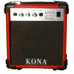 Kona 10 watt Red Electric Guitar Amplifier