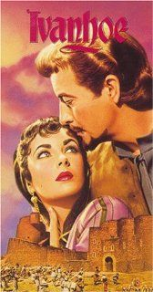 Ivanhoe [UK IMPORT] [VHS]: Robert Taylor, Elizabeth Taylor, Joan Fontaine, George Sanders, Emlyn Williams, Robert Douglas, Finlay Currie, Felix Aylmer, Francis De Wolff, Norman Wooland, Basil Sydney, Harold Warrender, Freddie Young, Richard Thorpe, Frank C