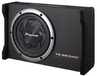 "Pioneer TS SWX251 10"" Flat Subwoofer with Enclosure 800 Watts  Vehicle Subwoofers"