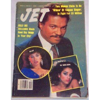 Jet Magazine March 11, 1985 Billy Dee Williams, Rae Dawn Chong, Daughter of Cheech: Various: Books