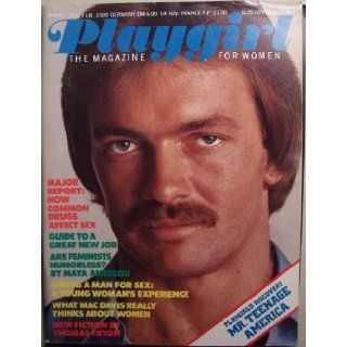 Playgirl Magazine, November 1975 issue, Playgirl's Discovery: Mr. Teenage America (Maya Angelou, Mac Davis, Thomas Tryon): Editors of Playgirl: Books