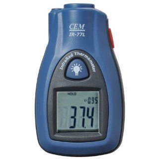 CEM IR 77L Pocket Non contract InfraRed Thermometers with Laser Pointer ( 30�C to 270�C) (DS)61 Monitor for Refrigerator, Dishwasher, Freezer and Oven Etc.   Multi Testers