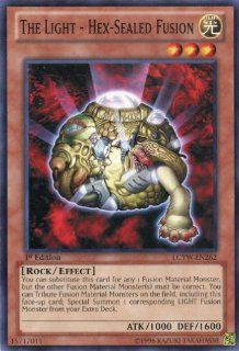 Yu Gi Oh   The Light   Hex Sealed Fusion (LCYW EN262)   Legendary Collection 3 Yugi's World   1st Edition   Common Toys & Games