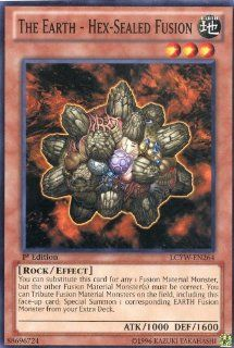 Yu Gi Oh   The Earth   Hex Sealed Fusion (LCYW EN264)   Legendary Collection 3 Yugi's World   1st Edition   Common Toys & Games