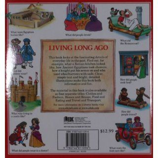 The Usborne Book of Living Long Ago: Everyday life through the Ages (Explainers): Felicity Brooks, Helen Edom, Cheryl Evans, Janet Cook, Teri Gower, Guy Smith, Chris Lyon: 9780746011096: Books