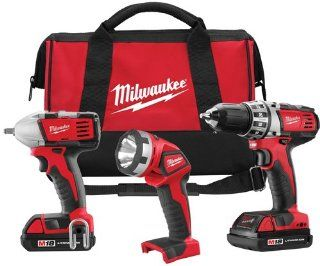 Milwaukee 2691 23 M18 18 Volt 3 Tool Combo Kit   Power Tool Combo Packs