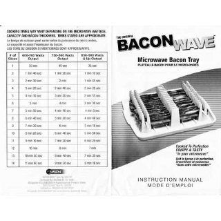 Emson Bacon Wave, Microwave Bacon Cooker Kitchen & Dining