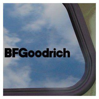 BF Goodrich Black Decal BFG Bfgoodrich Tire Window Sticker   Automotive Decals