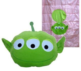 Toy Story Alien Pillow and Blanket Pack (2 in 1)  Novelty Blanket Toys & Games