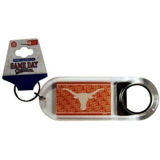 NCAA Texas Longhorns Lucite Bottle Opener Keychain  Key Chains  Sports & Outdoors