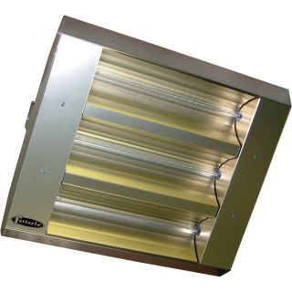 TPI Indoor/Outdoor Quartz Infrared Heater — 16,382 BTU, 480 Volts, Stainless Steel, Model# 223-90-THSS-480V  Electric Garage   Industrial Heaters