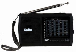Kaito KA321 Pocket size 10 Band AM/FM Shortwave Radio with DSP (Digital Signal Processing), Black: Electronics