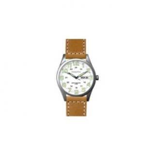 Dakota Watch Company Big Angler Wrist Watch (Tan with White): Clothing