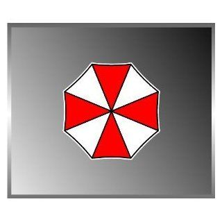 "Resident Evil Umbrella Corporation Xbox Ps3 Umbrella Decal Sticker 4""x4"": Everything Else"