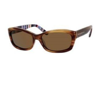 Kate Spade Sunglasses Ginnie / Frame: Fawn/ Striped Lens: Dark Brown Polarized: Clothing