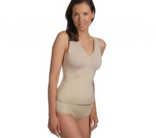 Spanx Hide & Sleek Smoothing V neck Camisole & Panty Set —