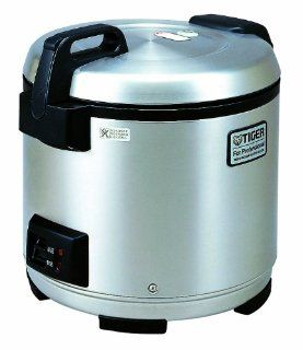 Tiger JNO A36U 20 Cup Commercial Rice Cooker and Warmer with Stainless Steel finish Kitchen & Dining
