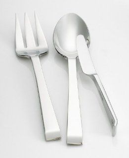 Kate Spade NOEL FLATWARE 3 PC SERVING SET: Kitchen & Dining